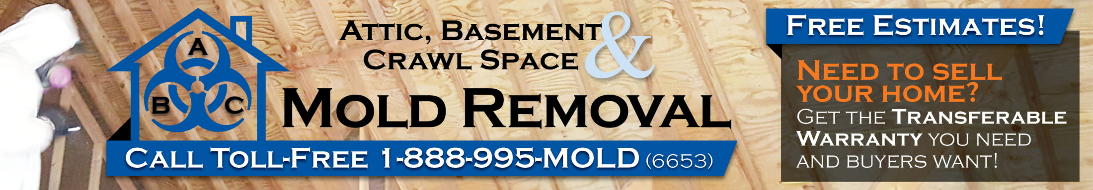 ABC Mold Removal - Attic Basement and Crawl Space Mold Remediation Company